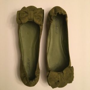 New Military Green Flats